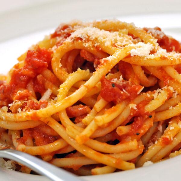 Spaghetti amatriciana